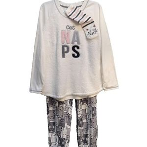 Cat Naps PJ set